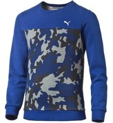 Puma 838794 Sweatshirt Kid Blue Blue