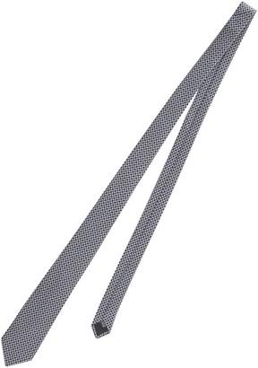 Lanvin Geometric Pattern Tie