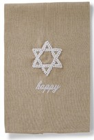 Mud Pie Star Of David Hand Towel