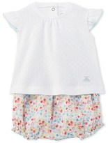 Petit Bateau Baby girl T-shirt and bloomers set