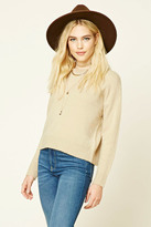Forever 21 FOREVER 21+ Boxy Crew Neck Sweater