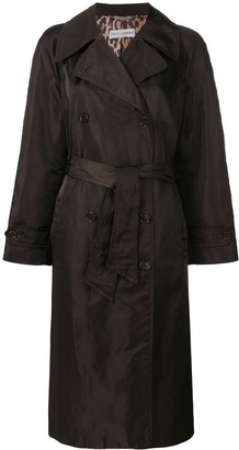 Dolce & Gabbana Pre Owned Loose Fit Midi Coat
