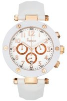 Freelook Women's HA1135CHRG-9 Rose Gold Plated Stainless Steel Case White Dial White Band Watch