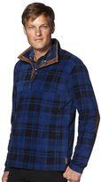 Chaps Men's Plaid Microfleece Pullover