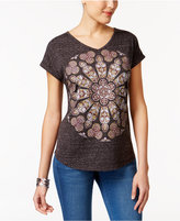 Style&Co. Style & Co Petite Cotton Graphic T-Shirt, Only at Macy's