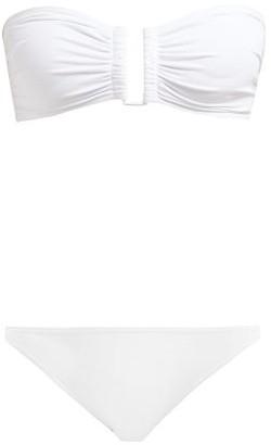 Eres Show & Obscura Bandeau Bikini - Womens - White