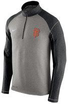 Nike Men's San Francisco Giants Dri-FIT Touch Half-Zip Pullover