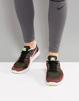 Nike Running Free Run 2 Trainers In Red 880839-005
