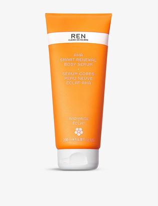 REN AHA Smart Renewal body serum 200ml