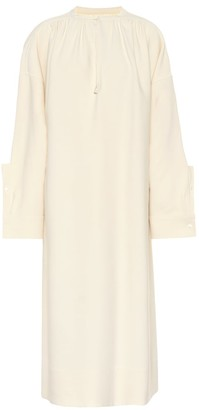 Jil Sander Wool and silk blend dress
