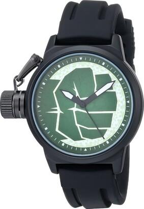 Marvel Men's W001755 The Avengers Hulk Analog-Quartz Black Watch