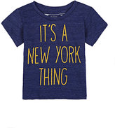 """Little DiLascia """"It's A New York Thing"""" Graphic T-Shirt"""