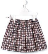 Marni plaid print skirt