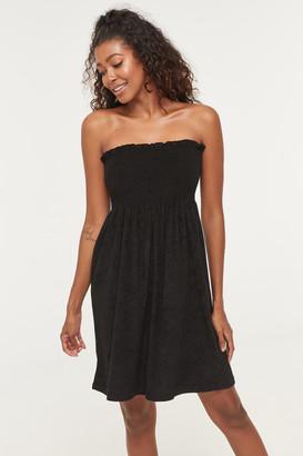 Ardene Strapless Smocked Dress