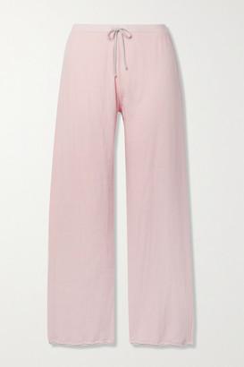 Skin Net Sustain Guinevere Organic Pima Cotton-jersey Track Pants