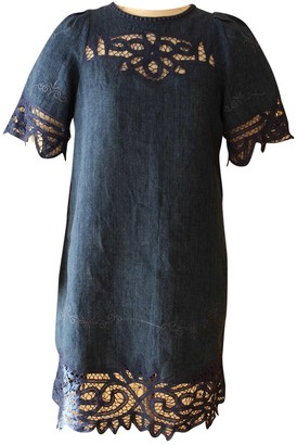 Sea New York Blue Linen Dresses