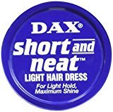 Dax Short and Neat Light Hair Dress Travel Size 1.25 Oz/35g by