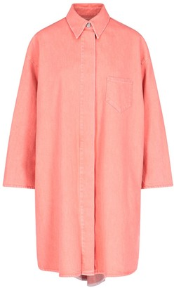 MM6 MAISON MARGIELA Oversized Denim Shirt Dress