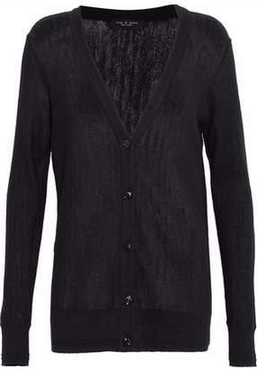 Rag & Bone Open-knit Cashmere Cardigan