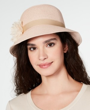 Cloche August Hats Lace Flower