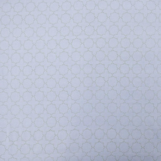 Indigo & Wills - Casablanca Lime Voile Curtain Panel - Green