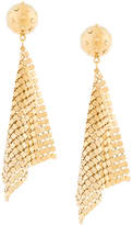 Prada mesh earrings