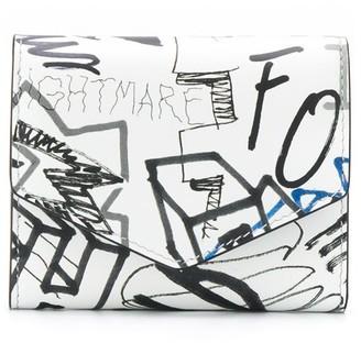 Maison Margiela graffiti-print wallet