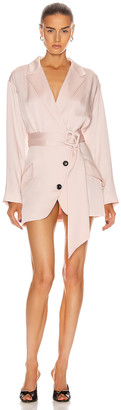 Marissa Webb Cyrus Suit Dress in Blush | FWRD