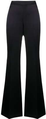 P.A.R.O.S.H. Flared High-Waist Trousers