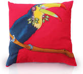 Perky Toucan Printed Cushion