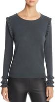 Vero Moda Colusa Ruffle-Trim Sweater