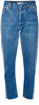 RE/DONE cropped jeans - women - Cotton - 27