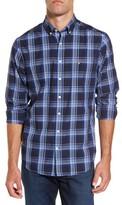 Gant Men's Tech Oxford Plaid Sport Shirt