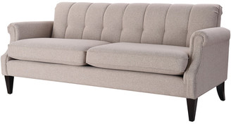 Jennifer Taylor Giotto Channel Tufted Roll Arm Sofa