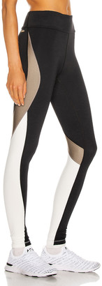 ALALA Edge Ankle Tight Legging in Gold Dust | FWRD