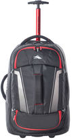 High Sierra NEW 87274-1041 Composite wheeled duffle 56cm: Black/Red 2.3kg