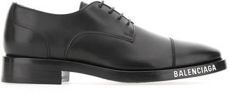 Balenciaga Logo Detail Derby Shoes