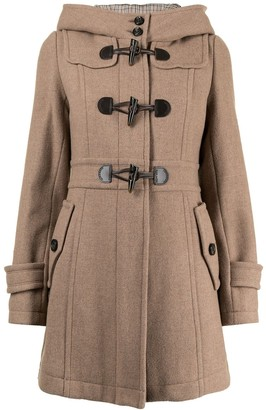 Burberry Pre-Owned Hooded Duffle Coat