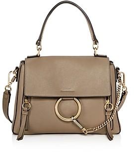 Chloé Faye Small Leather Satchel