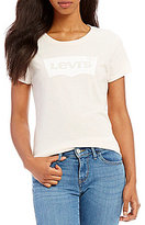 Levi's Levis Short Sleeve Batwing Logo Tee