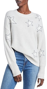 Rails Virgo Star Print Wool & Cashmere Sweater