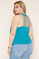 Forever 21 FOREVER 21+ Plus Size Strappy-Back Top