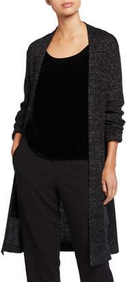 Eileen Fisher Merino Wool Sparkle Long Cardigan