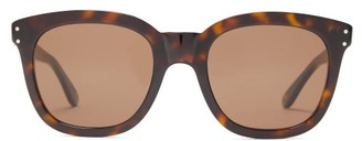 Gucci Square-frame Acetate Sunglasses - Mens - Tortoiseshell