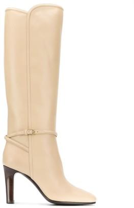 Saint Laurent Jane harness-detail boots