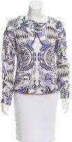 Versace Abstract Print Lightweight Jacket