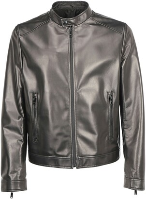 Prada Reversible Zip Up Biker Jacket