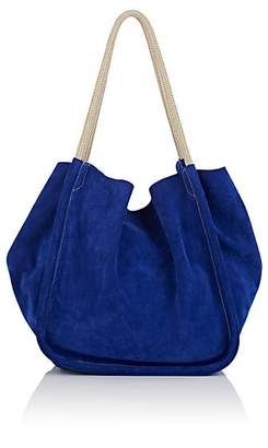 Proenza Schouler Women's Extra-Large Suede Tote Bag - Blue