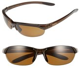 Smith Optics Women's 'Parallel' 65Mm Polarized Sunglasses - Brown