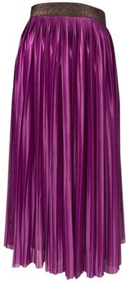 Victoria Beckham Purple Polyester Skirts